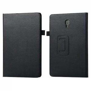 Сегментарный чехол книжка подставка с рамочной защитой экрана для Samsung Galaxy Tab A 10.5  Черный