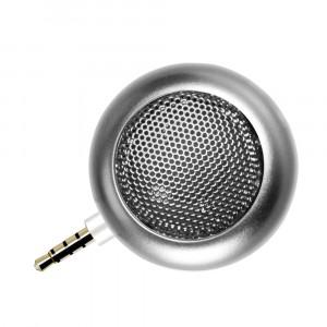 Портативный универсальный внешний мини-динамик 3.5мм 3Вт серия Metallic Серый