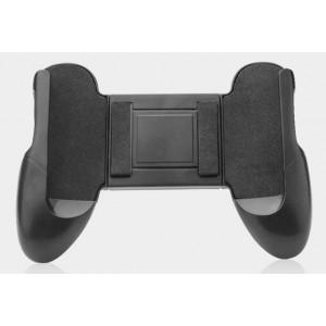Эргономичный игровой джойстик-держатель для гаджетов 4.5-6.5 дюймов с мягкими вставками и доступом к зарядному разъему Черный