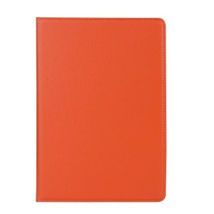Роторный чехол книжка подставка на непрозрачной поликарбонатной основе для IPad Pro 11 Оранжевый