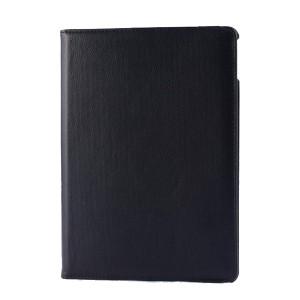 Роторный чехол книжка подставка на непрозрачной поликарбонатной основе для IPad Pro 11 Черный
