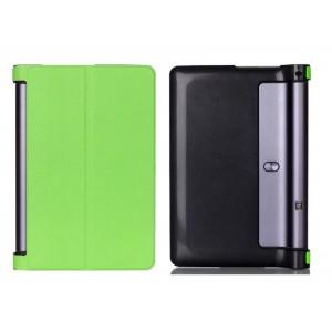 Чехол подставка на поликарбонатной основе для Lenovo Yoga Tab 3 Pro Зеленый