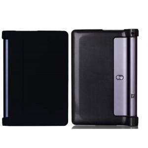 Чехол подставка на поликарбонатной основе для Lenovo Yoga Tab 3 Pro Черный
