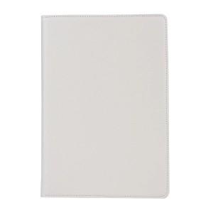 Роторный чехол книжка подставка на непрозрачной поликарбонатной основе для IPad Pro 12.9 (2018)  Белый