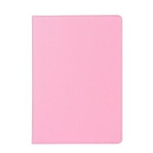 Роторный чехол книжка подставка на непрозрачной поликарбонатной основе для IPad Pro 12.9 (2018)  Розовый