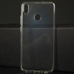 Силиконовый глянцевый транспарентный чехол для Huawei Honor 8X