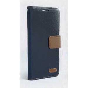 Текстурный чехол флип подставка с дизайнерской застежкой и отделением для карт для ASUS Zenfone 2 Laser 5 ZE500KL Черный