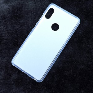 Силиконовый матовый полупрозрачный чехол для XIaomi RedMi Note 5/5 Pro Белый