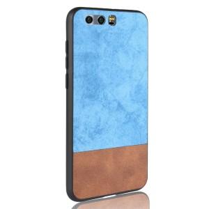Силиконовый матовый непрозрачный чехол с текстурным покрытием Замша для Huawei Honor 8 Голубой