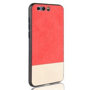 Силиконовый матовый непрозрачный чехол с текстурным покрытием Замша для Huawei Honor 8 Красный