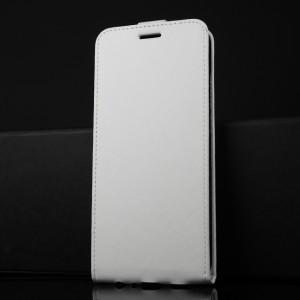 Глянцевый водоотталкивающий чехол вертикальная книжка на силиконовой основе с отсеком для карт на магнитной защелке для Huawei Honor 8X Белый