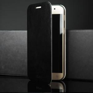 Чехол флип подставка на силиконовой основе для Samsung Galaxy A5 (2017) Черный