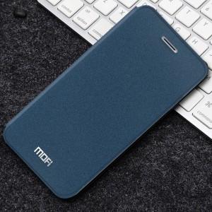Чехол горизонтальная книжка подставка текстура Золото на силиконовой основе для Iphone Xs Max Синий