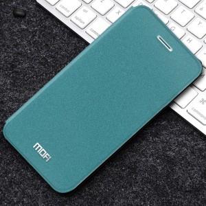 Чехол горизонтальная книжка подставка текстура Золото на силиконовой основе для Iphone Xs Max Зеленый