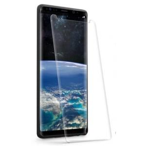 Ультратонкое износоустойчивое сколостойкое олеофобное защитное стекло-пленка для Samsung Galaxy S9 Plus