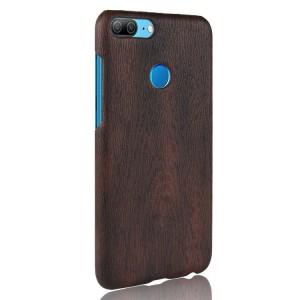 Чехол накладка текстурная отделка Дерево для Huawei Honor 9 Lite  Коричневый