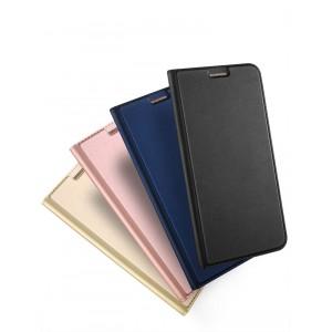 Чехол горизонтальная книжка подставка на силиконовой основе с отсеком для карт для Samsung Galaxy A5 (2017)