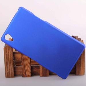 Пластиковый чехол для Sony Xperia Z1 Синий