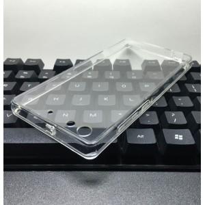 Cиликоновый глянцевый транспарентный чехол с поликарбонатными вставками для Huawei Honor 4C