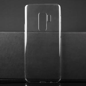 Пластиковый транспарентный чехол для Samsung Galaxy S9 Plus