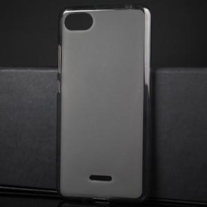 Силиконовый матовый полупрозрачный чехол для Xiaomi RedMi 6A Серый