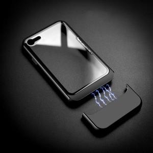 Двухкомпонентный сборный пластиковый матовый чехол на магнитных креплениях для Iphone 6/6s