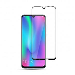Полноэкранное ультратонкое износоустойчивое сколостойкое олеофобное защитное стекло-пленка для Huawei P Smart 2019/Honor 10 Lite Черный