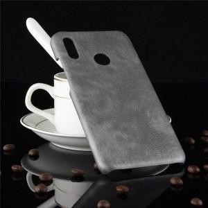 Чехол накладка текстурная отделка Кожа для Huawei P Smart 2019/Honor 10 Lite Серый