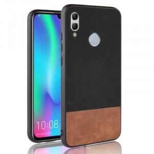 Силиконовый матовый непрозрачный чехол с текстурным покрытием Замша для Huawei P Smart 2019/Honor 10 Lite Черный