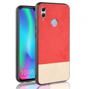 Силиконовый матовый непрозрачный чехол с текстурным покрытием Замша для Huawei P Smart 2019/Honor 10 Lite Красный