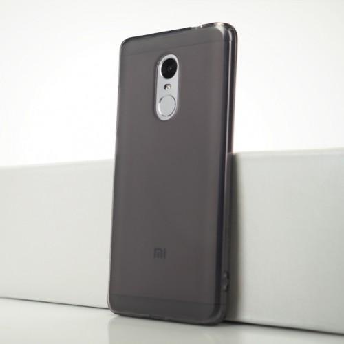 Силиконовый матовый полупрозрачный чехол для Xiaomi RedMi Note 4X