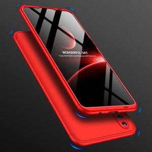 Двухкомпонентный сборный пластиковый матовый чехол для Huawei Honor 10 Lite Красный