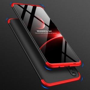 Двухкомпонентный сборный двухцветный пластиковый матовый чехол для Huawei Honor 10 Lite Красный