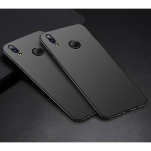 Пластиковый непрозрачный матовый чехол с улучшенной защитой элементов корпуса для Huawei P Smart 2019/Honor 10 Lite Черный
