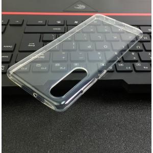 Силиконовый глянцевый транспарентный чехол для Huawei P30