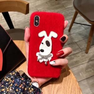 Пластиковый непрозрачный матовый чехол с текстурным покрытием Ткань для Iphone Xs Max Красный