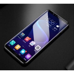 Экстразащитная термопластичная саморегенерирующаяся уретановая пленка на плоскую и изогнутые поверхности экрана для Samsung Galaxy A7 (2018)
