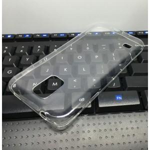 Силиконовый глянцевый транспарентный чехол для Samsung Galaxy S5