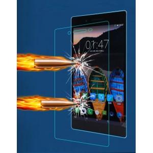 Ультратонкое износоустойчивое сколостойкое олеофобное защитное стекло-пленка для Lenovo Tab 4 7