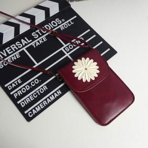 Чехол-сумка из искуственной кожи с двумя внутренними отсеками и прозрачной задней частью Красный