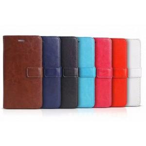Чехол портмоне подставка с отсеком для карт на магнитной защелке для Sony Xperia C