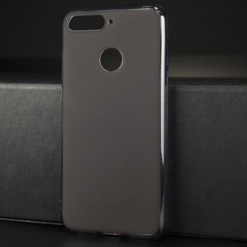 Силиконовый матовый полупрозрачный чехол для Huawei Honor 7A Pro/7C/Y6 Prime (2018)