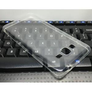 Силиконовый глянцевый транспарентный чехол для Samsung Galaxy Grand Prime