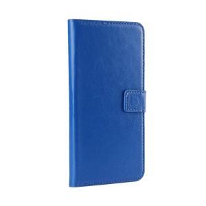 Чехол портмоне подставка на силиконовой основе с отсеком для карт на магнитной защелке для Iphone 7/8 Синий
