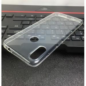 Силиконовый глянцевый транспарентный чехол для Xiaomi RedMi Note 7