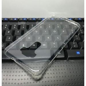 Силиконовый глянцевый транспарентный чехол для Asus ZenFone 3