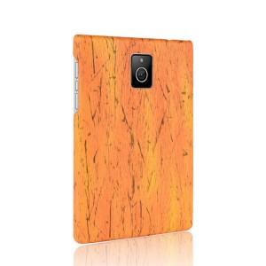 Чехол накладка текстурная отделка Дерево для Blackberry Passport Бежевый