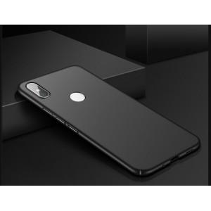 Пластиковый непрозрачный матовый чехол с улучшенной защитой элементов корпуса для Xiaomi RedMi Note 5/5 Pro Черный