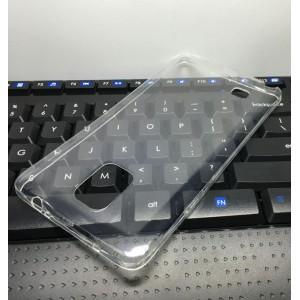 Силиконовый глянцевый транспарентный чехол для Samsung Galaxy Note 4