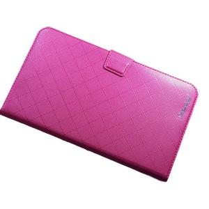 Чехол флип подставка на магнитной защелке с отсеком для карт для планшета Пурпурный